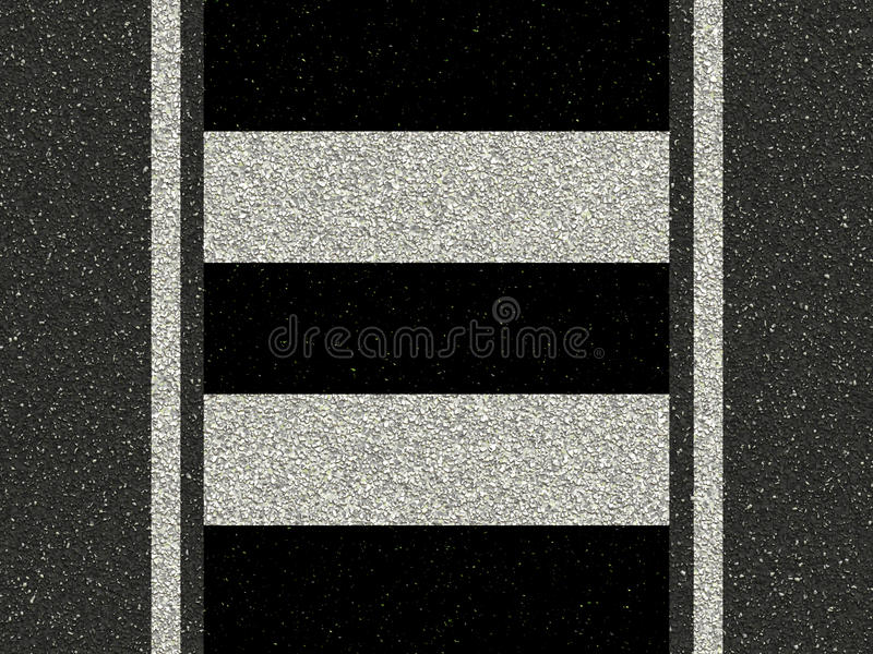 Download Road With Zebra Crossing Stock Images - Image: 12499394