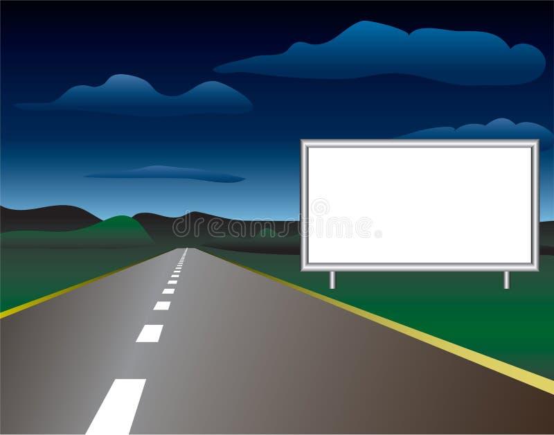 Road1 illustrazione di stock