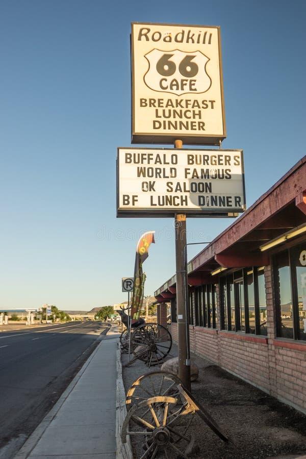 Roadkill kawiarnia zdjęcie stock
