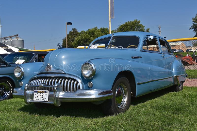 1947 Roadmaster Buick stock images