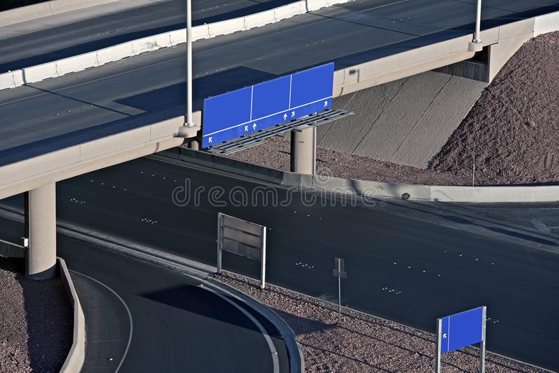 Download Roads and Signs stock image. Image of horizontal, empty - 35500887
