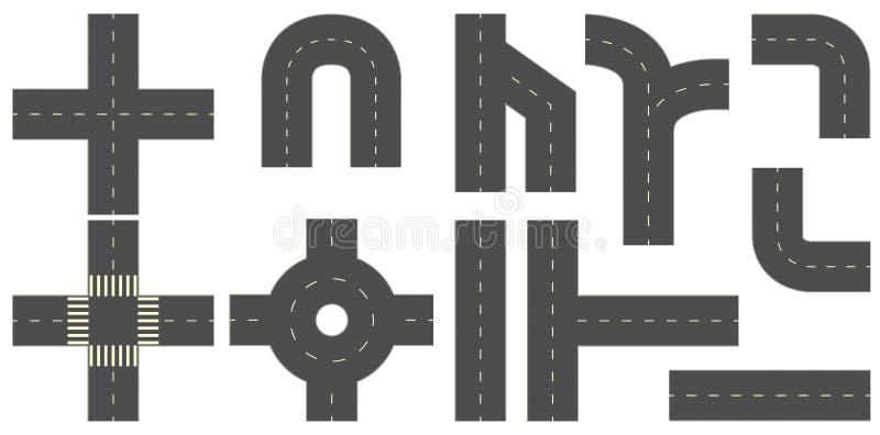 Roads royalty free illustration