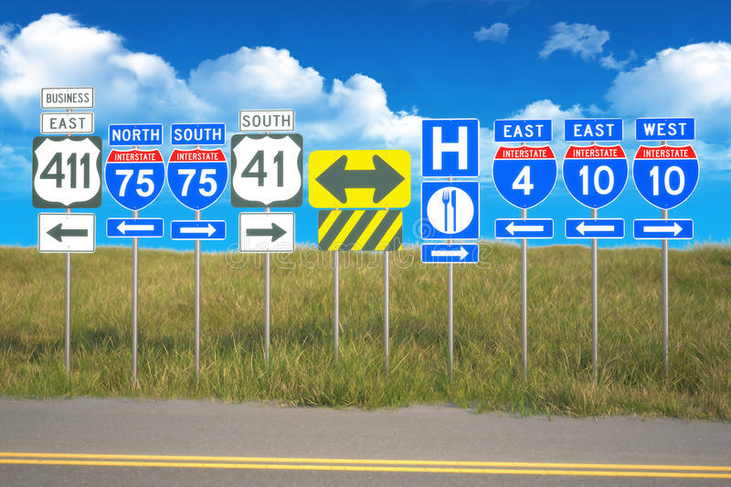 Roads Of Travel Royalty Free Stock Images
