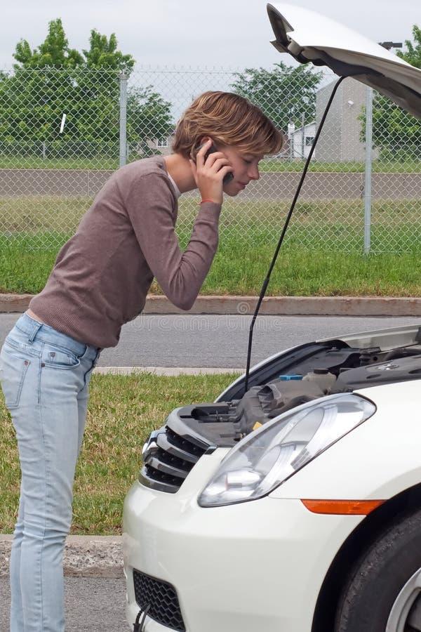 Download Roadside assistance stock image. Image of bonnet, details - 14587839