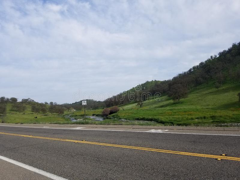 roadside image libre de droits