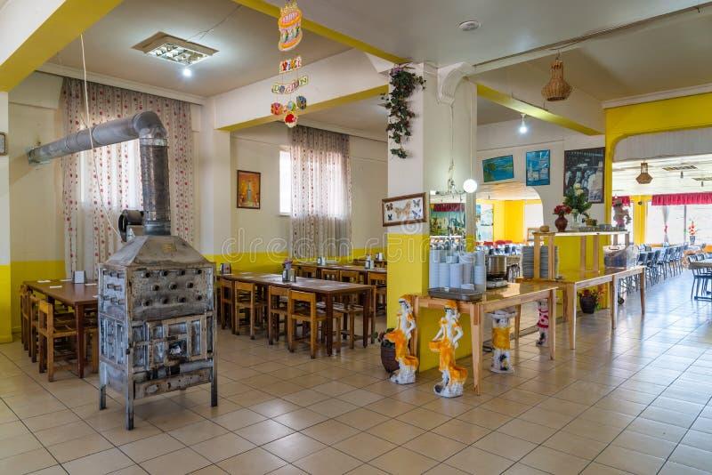 Roadside restaurant in Turkey stock photos
