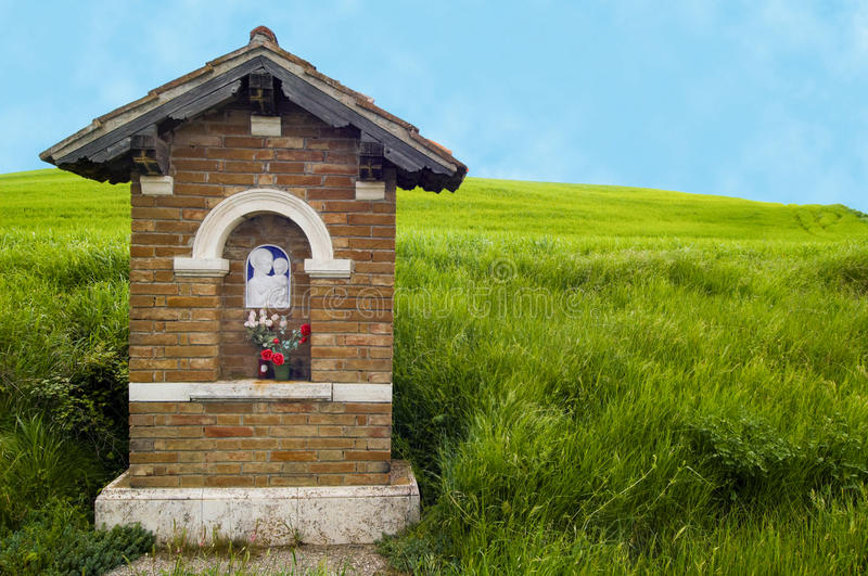 Download Roadside shrine, Italy stock photo. Image of grass, italy - 24283812