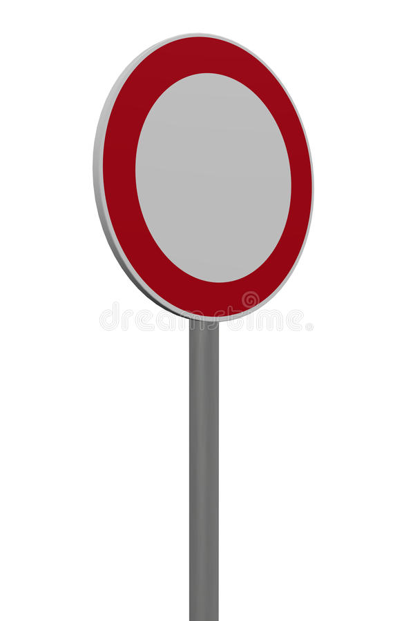 Roadsign vector illustratie