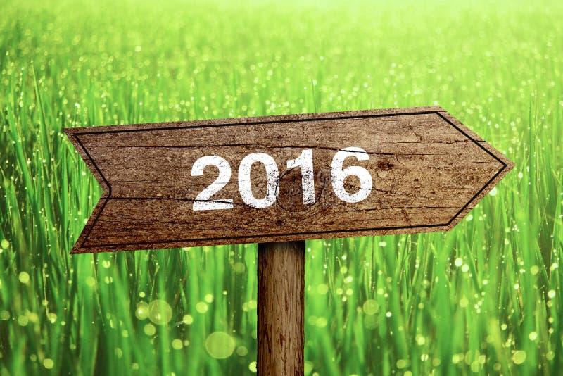 roadsign 2016 immagini stock
