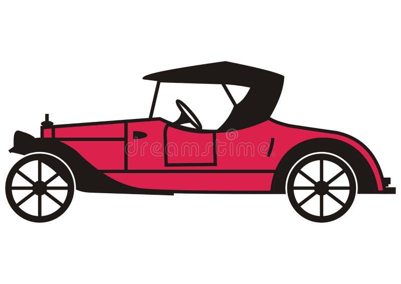 roadster royaltyfri illustrationer