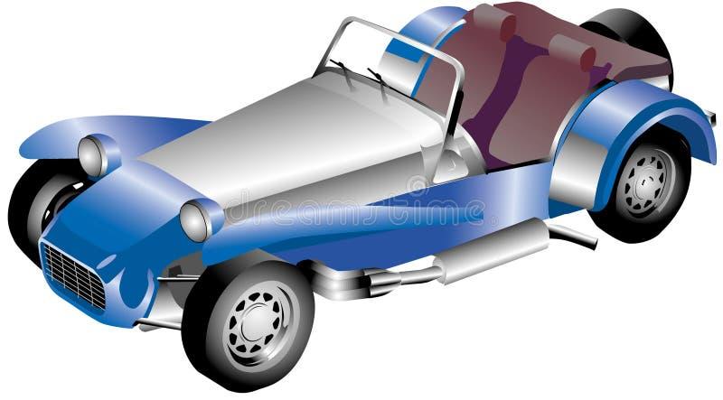 roadster stock illustrationer