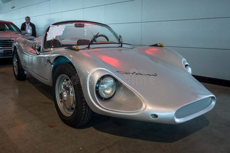 Roadster Colani GT, 1964. STUTTGART, GERMANY - MARCH 02, 2017: Roadster Colani GT, 1964. Europe`s greatest classic car exhibition `RETRO CLASSICS stock photos
