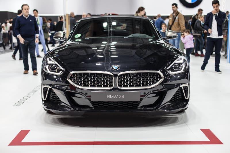 Roadster de BMW Z4 ? l'automobile Barcelone 2019 image stock