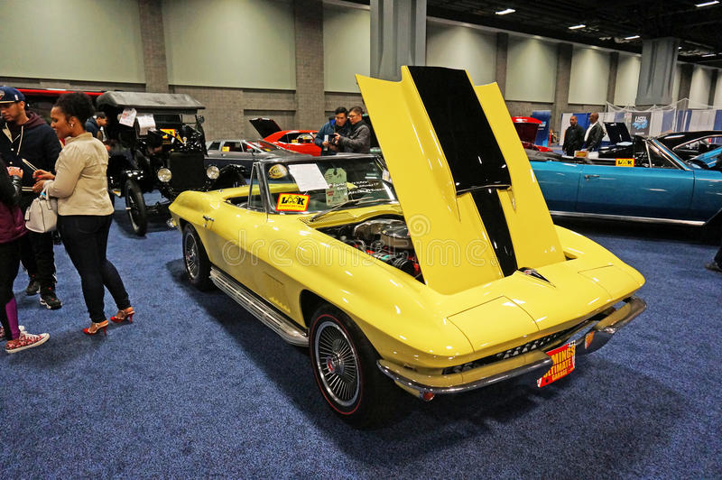 Roadster 1967 de Corvette photo stock