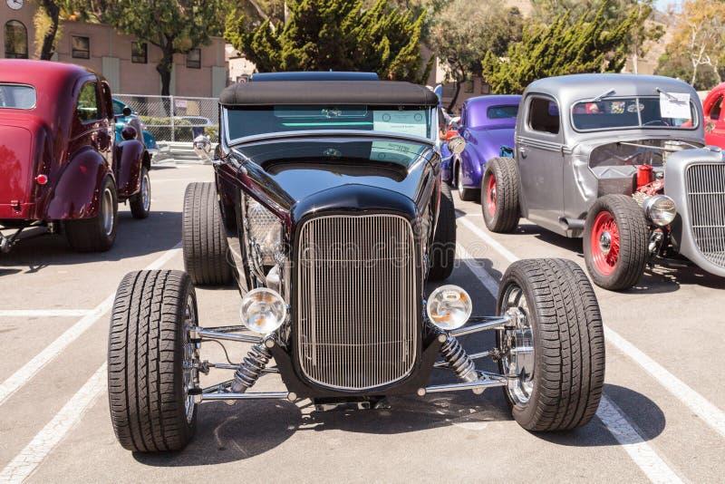 Roadster de Ford B du noir 1932 photos stock