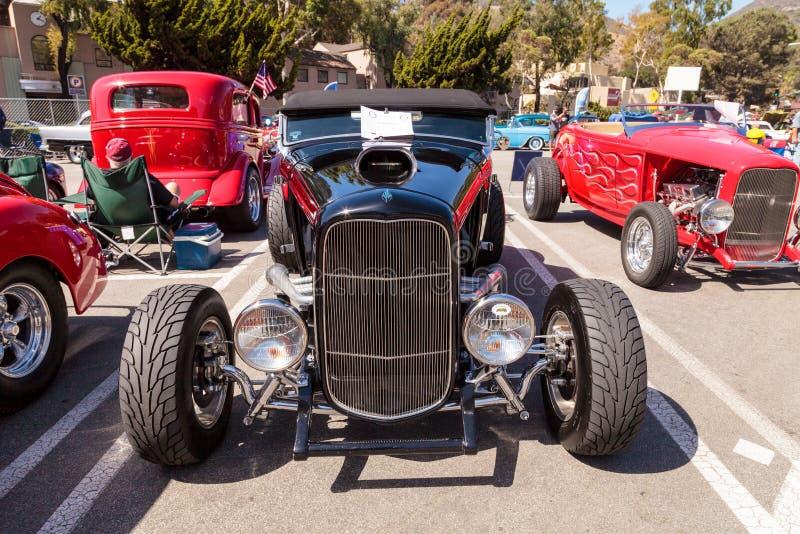 Roadster de Ford B du noir 1932 images libres de droits