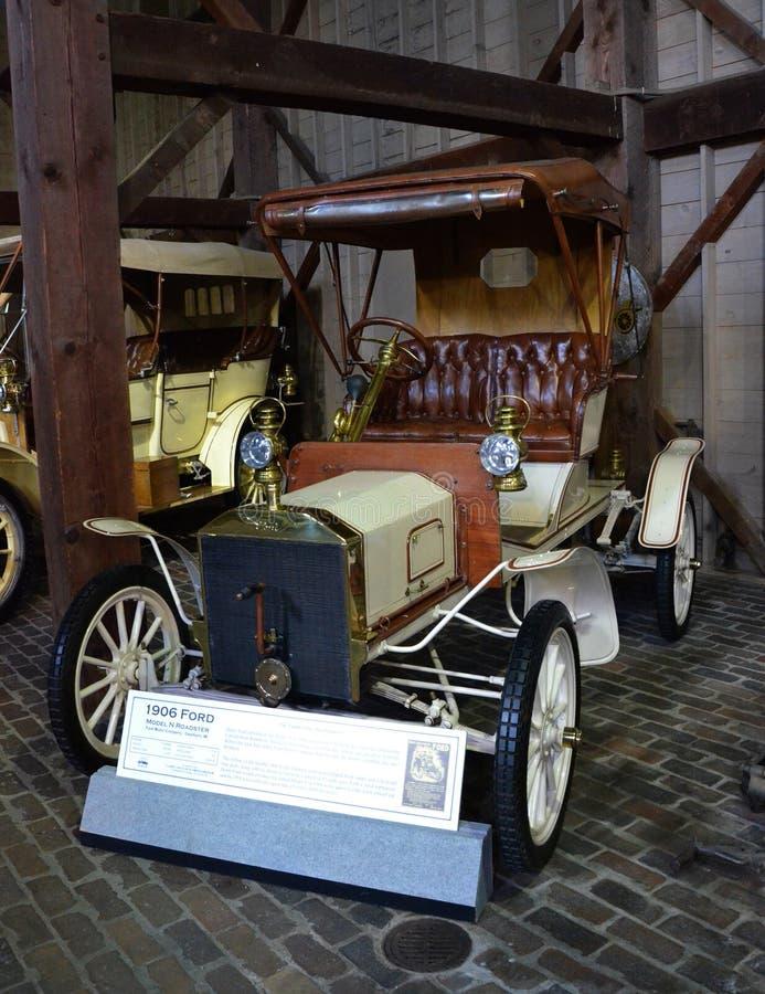 Roadster 1906 de Ford Model N image libre de droits