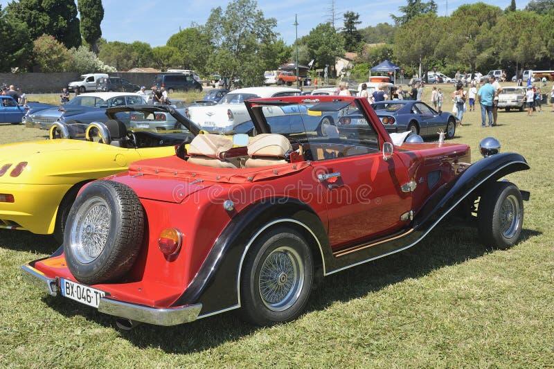 Roadster de Suncar Arpege construit pendant les années 80 images libres de droits