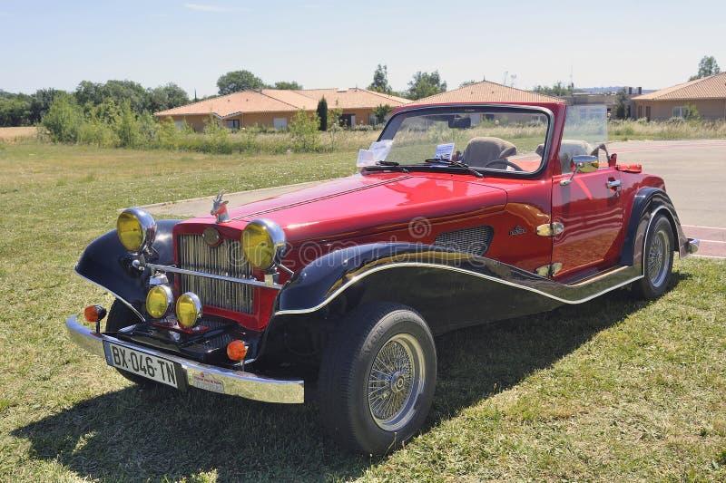 Roadster de Suncar Arpege construit pendant les années 80 image stock