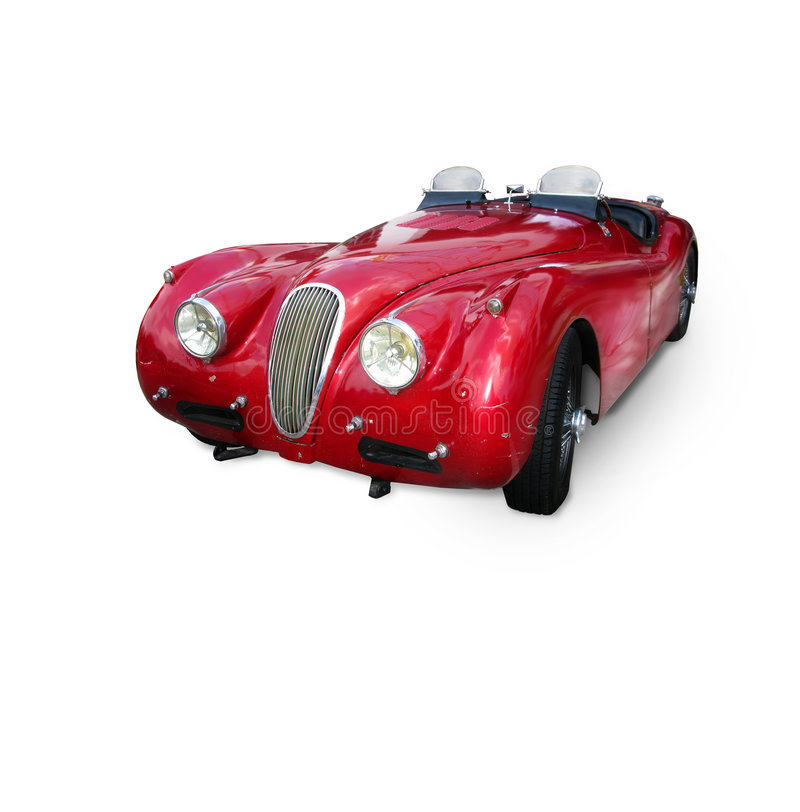 Roadster dell'annata fotografia stock libera da diritti