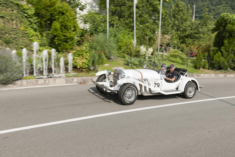 Roadster du sud solides solubles du Tyrol Rallye 2016_Excaibur photos stock