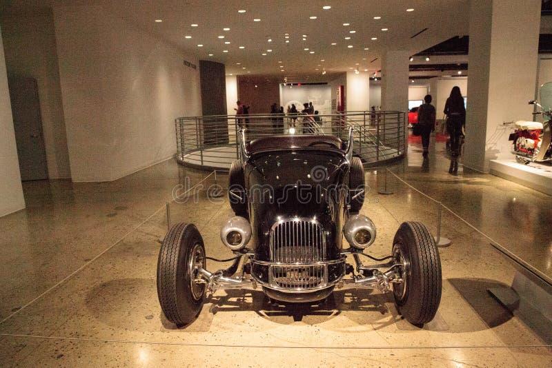 Roadster 1927 fait sur commande de Ford Model T de noir par Frank Mack images stock