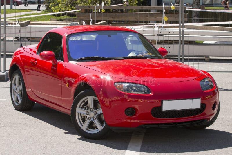 Roadster. Japanese car roadster Mazda MX-5 stock image