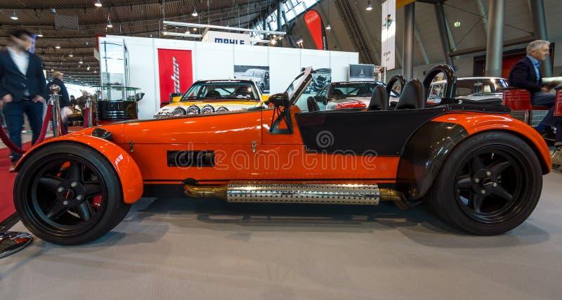 Roadster Turbo, 2011 d'Irmscher de voiture de sport images libres de droits