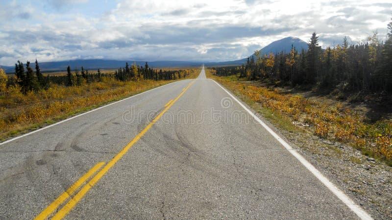 Roadtrip de Alaska fotos de archivo libres de regalías