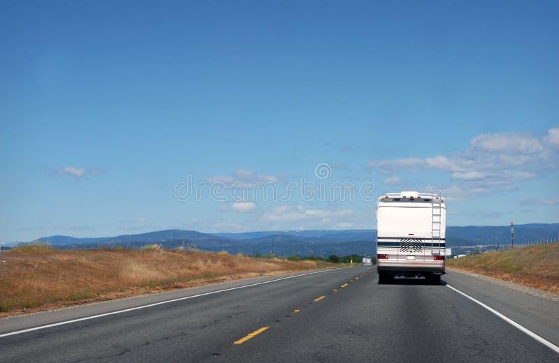 Roadtrip de rv photographie stock libre de droits
