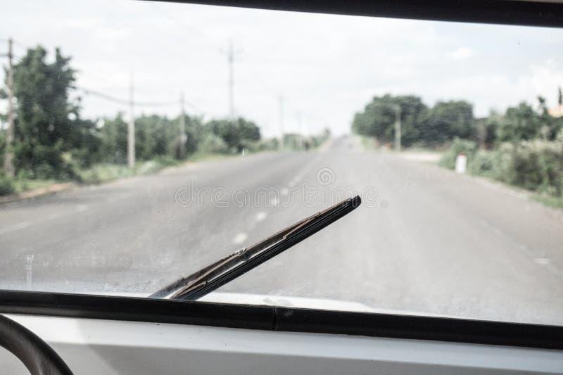 Roadtrip im Ganzen Land stockfoto