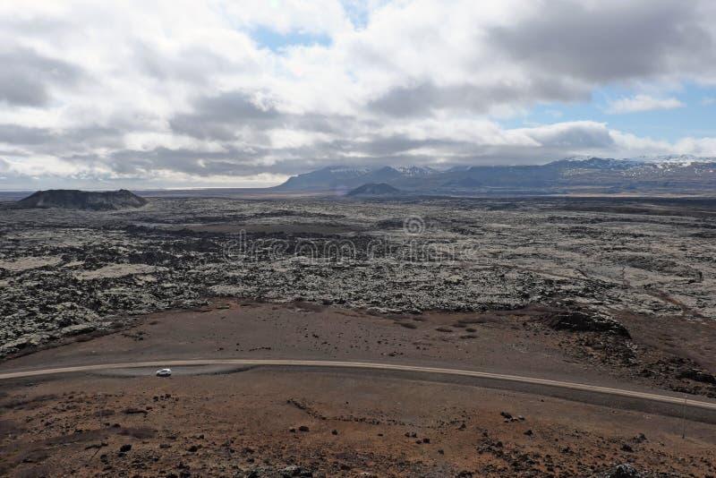 Roadtrip in Islanda fotografia stock