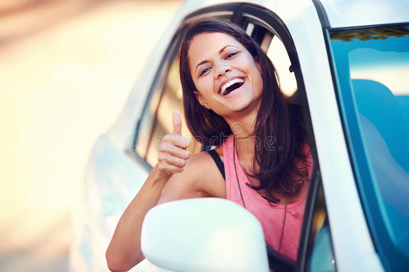 Download Roadtrip Woman Happy Stock Photos - Image: 29028083