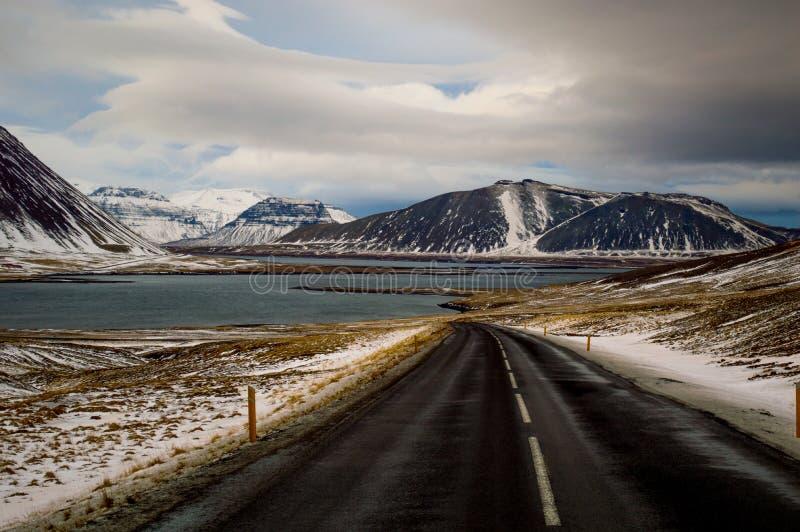 Roadtrippin en Islandia imagen de archivo