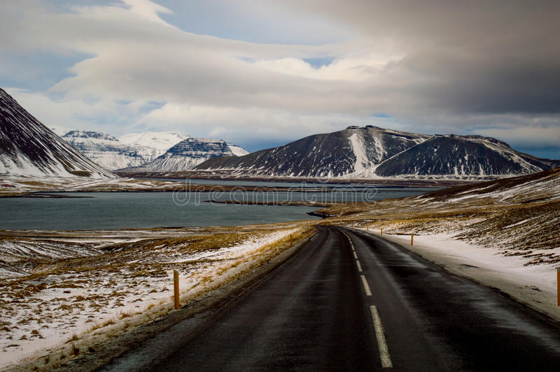 Roadtrippin' in Iceland stock image