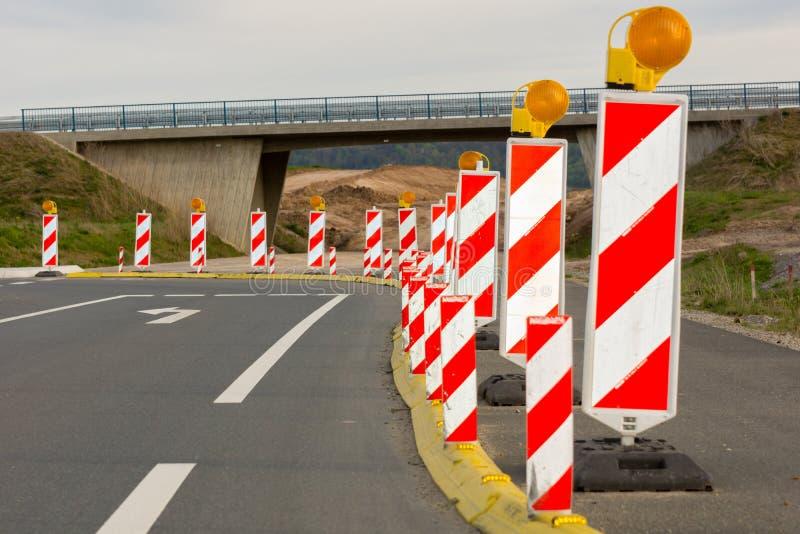 roadworks стоковые изображения