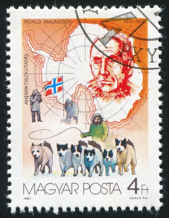 Roald Amundsen foto de stock