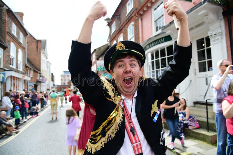 Roald Dahl Carnival Aylesbury, Buckinghamshire fotos de stock