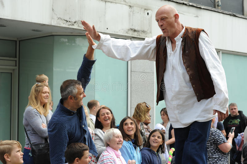 Roald Dahl karneval i Aylesbury, Buckinghamshire arkivbilder