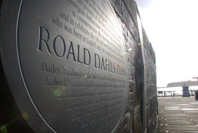 Roald Dahl Plass стоковые фотографии rf