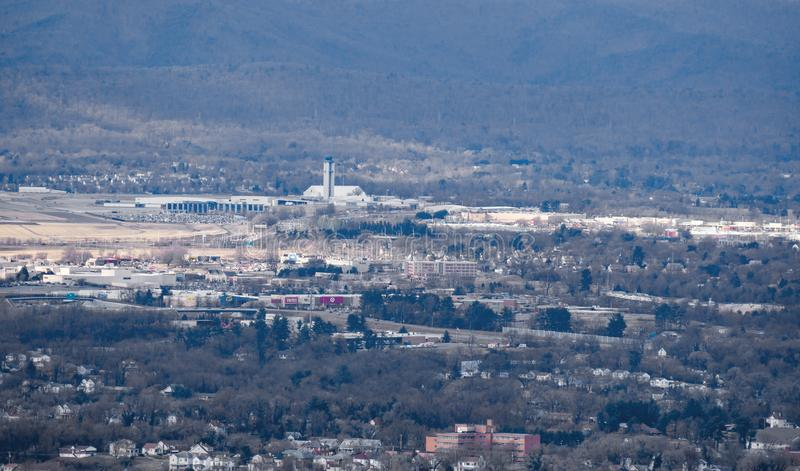Roanoke – Blacksburg Regional Airport. Roanoke, VA – February 2nd: The Roanoke – Blacksburg Regional Airport has two runways and has over 60 stock photos