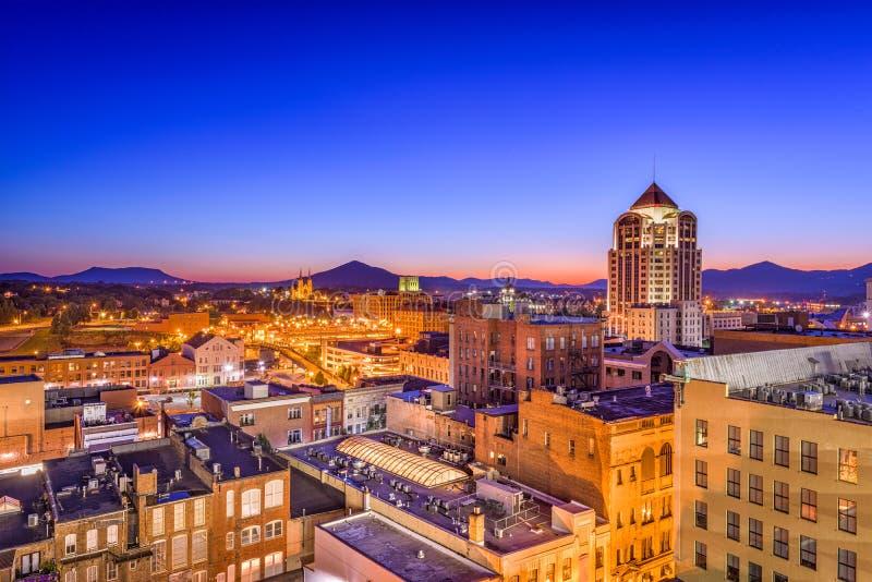 Roanoke, Вирджиния, США стоковое изображение rf