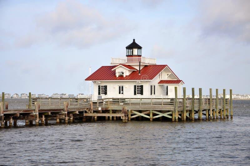 Roanoke Marshes Lighthouse, USA. Roanoke Marshes Lighthouse in Roanoke Island, Manteo, North Carolina, USA royalty free stock image
