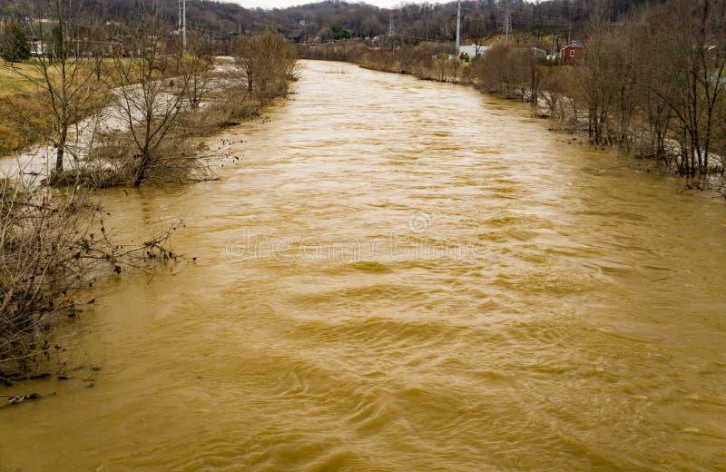 Roanoke River Cover the Roanoke River Green stock photos