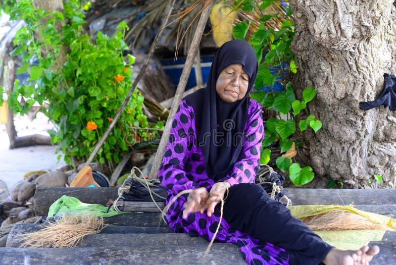 Roanu Veshun, Maldives photo libre de droits