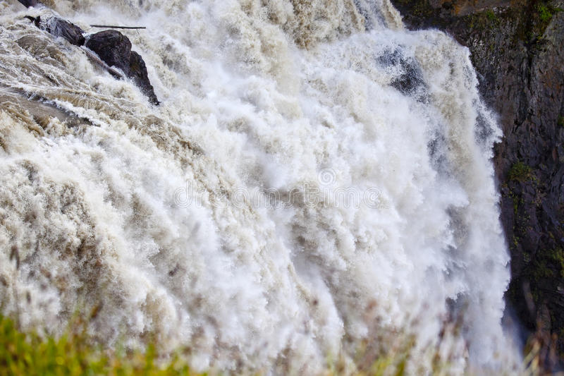 Download Roaring Snoqualme Falls Waterfall Royalty Free Stock Photography - Image: 16444097