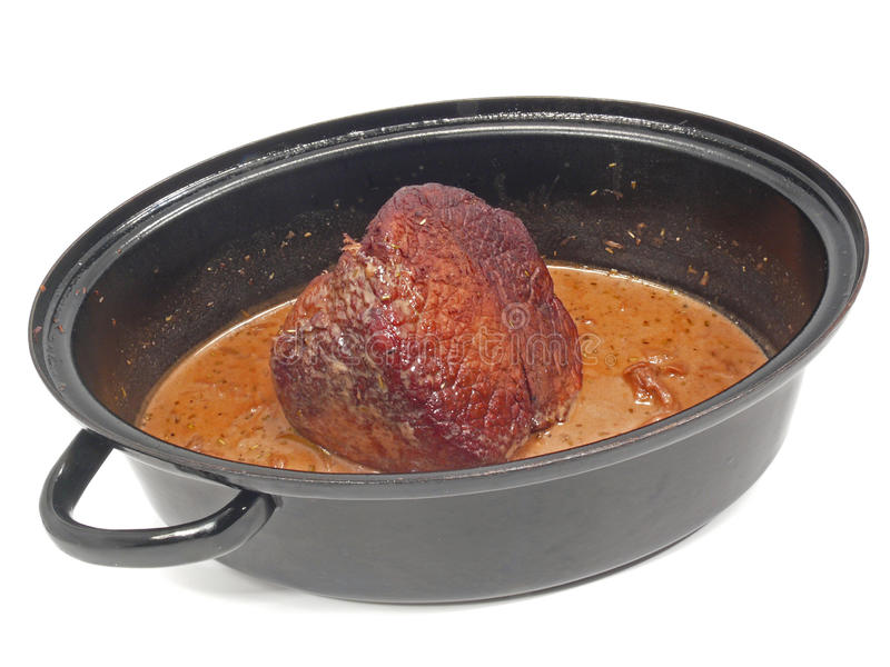 roast βόειου κρέατος στοκ φωτογραφίες