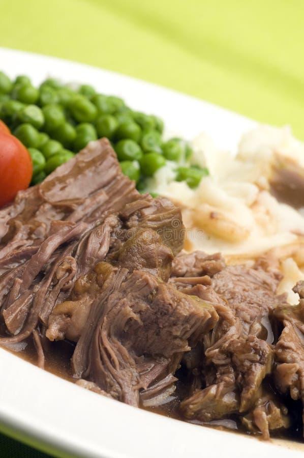 roast δοχείων γευμάτων που τ&epsil στοκ φωτογραφία με δικαίωμα ελεύθερης χρήσης