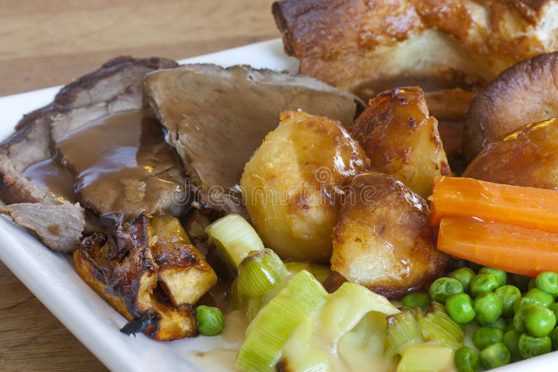 roast η Κυριακή στοκ φωτογραφία