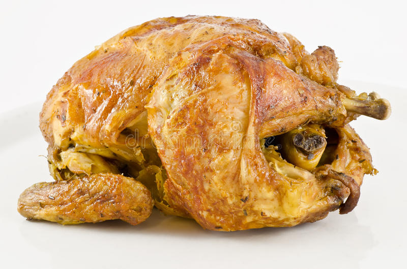 Roast κοτόπουλο στοκ εικόνες